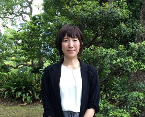 「デザインで売り上げアップに貢献したい」と話す江藤梢さん