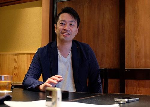 「米にこだわる飲食店は少ない」と話す近正宏光さん(撮影はUNIWORX飯田あずみ氏)