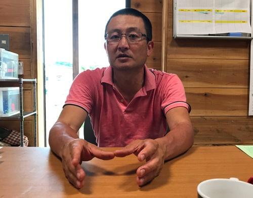 「小さい農業の面白さがある」と話す久松達央さん(茨城県土浦市)