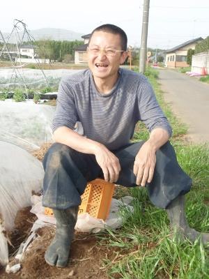 有機農業の価値をずっと考えてきた(2011年撮影、茨城県土浦市)