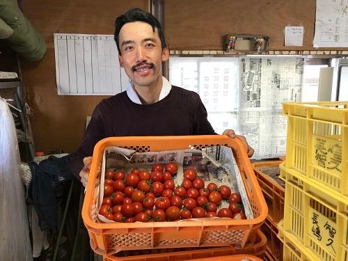 トマトの収量が安定し、時間に余裕ができた(宇都宮市)