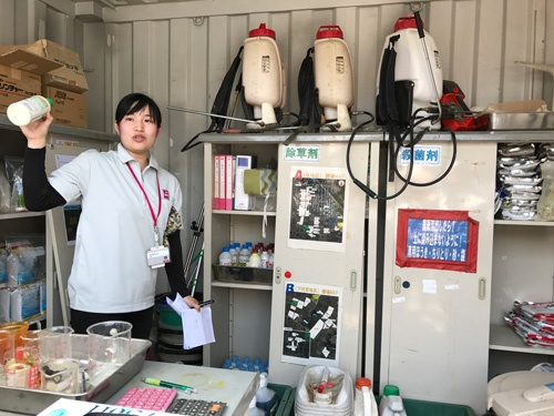 グローバルGAPの取得で農薬の管理はとくに重要(埼玉県羽生市)