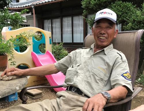 吉沢重造さんは過剰を排し、バランスを重視する。(埼玉県川越市)