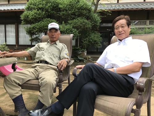 大地を守る会の藤田和芳さんは「重造さんと一緒に成長してきた」と話す。(埼玉県川越市)