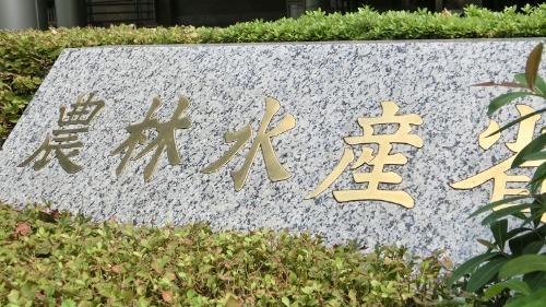 補助金で稲作を誘導する農林水産省(東京・霞ケ関)