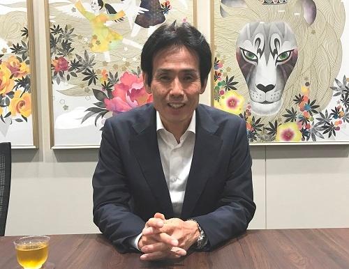 IT活用で農業の流通革命を目指すセラクの宮崎龍己社長(東京都新宿区)