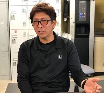 豊作計画の開発に協力した鍋八農産の八木輝治社長(愛知県弥富市)
