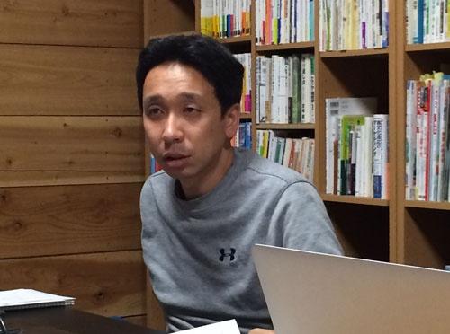 「番頭」としてチームを支える十川英和さん(茨城県土浦市)