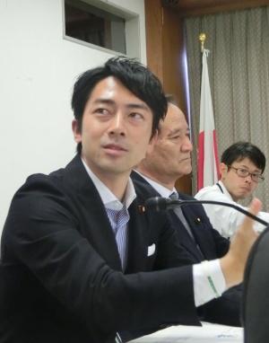 割高な農業資材の改革をテーマにした小泉進次郎氏