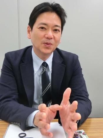 東京の新規就農を支援する東京都農業会議の松沢龍人さん