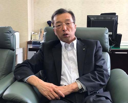 増産がコメの主産地の使命と考えるJA秋田ふるさとの小田嶋契さん
