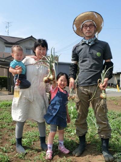東京都瑞穂町に新規就農した井垣貴洋さん一家