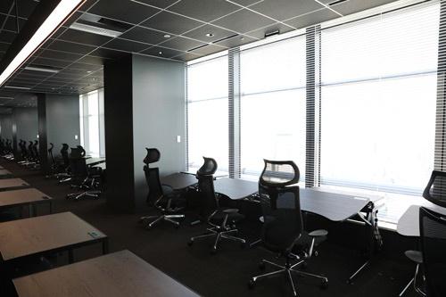 オフィスメーカーの最新製品が置かれた「Think Lab」