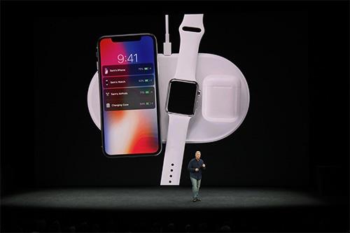 2017年9月に開催されたアップルの新製品発表会。近年、事前に情報がリークされるせいか、発表当日の驚きが少なくなっている(写真:The New York Times/アフロ)