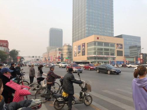 中国・雄安の中心地