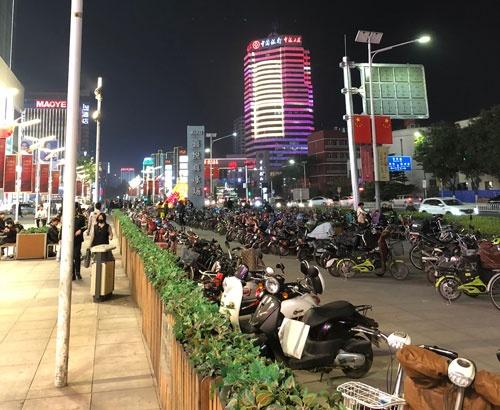 雄安新区の街の様子