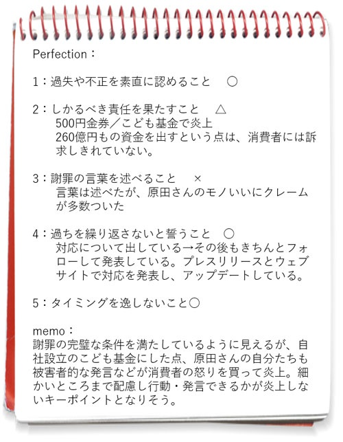 図1 ベネッセ個人情報流出事件に関する筆者ノート