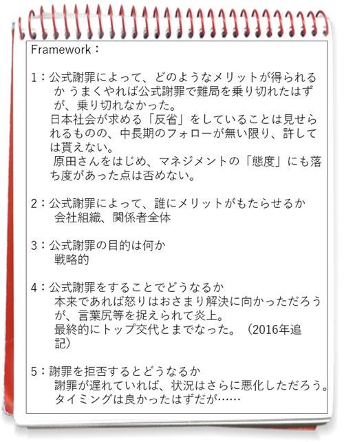 図2 ベネッセ個人情報流出事件に関する筆者ノート