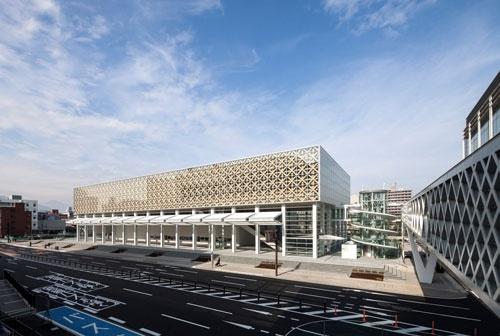 2015年4月に開館した大分県立美術館<br />外観©Hiroyuki Hirai 画像提供:大分県立美術館