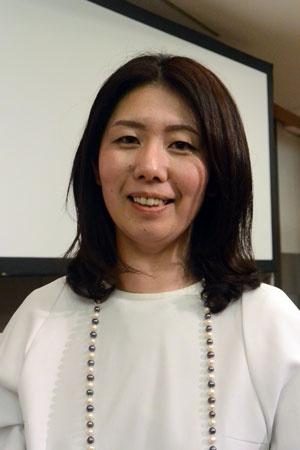 パネラーとして登壇した軒先株式会社の西浦明子さん
