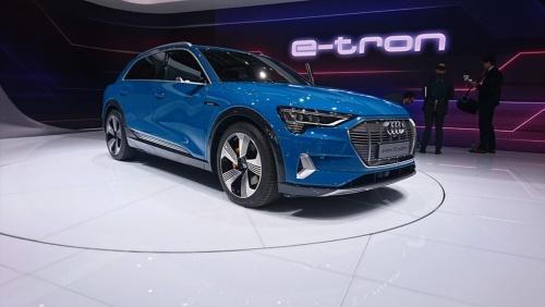 アウディが出展した初の量産EV「Audi e-tron」