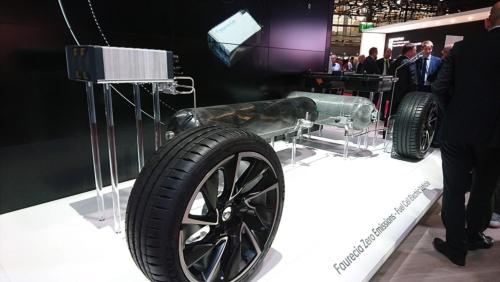 フォルシアが開発を進める燃料電池車(FCV)技術