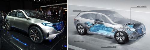 ダイムラーが出展したEVのコンセプトカー「Generation EQ」