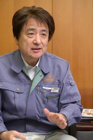 群協製作所の遠山社長(写真:新関雅士)