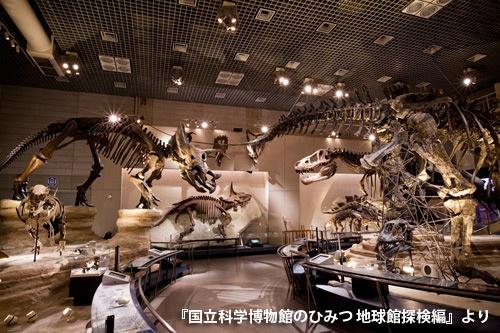 地下1階「恐竜の謎を探る」