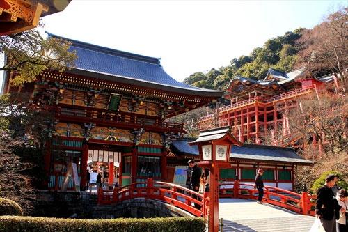 日本三大稲荷の一つ、祐徳稲荷神社は、佐賀県で撮影された3本の映画・ドラマにすべて登場。タイ人が訪れる定番スポットだ。