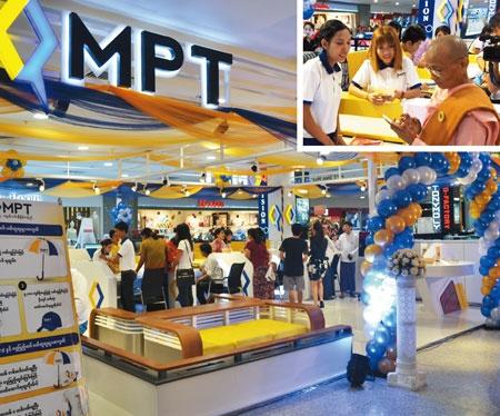 <b>MPTは自社ブランドのスマホなどを扱う専門店を130店展開。僧侶が来店することも</b>