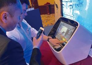 上海立名智能科技はホテルのチェックイン機を手始めに、ホテル用の様々なロボットを開発する