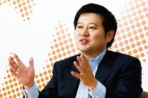 <b>辻庸介社長は「日々のサービスの改善がユーザーの信頼につながる」と強調する</b>