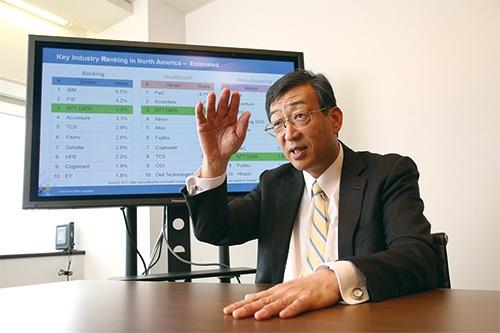 海外事業を統括する西畑一宏副社長は、「日本の若い社員を繰り返し海外拠点に送り込み、経験値を高めることが、一体感の醸成に欠かせない」と話す(写真=陶山 勉)