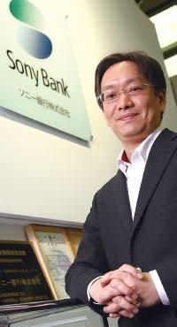 <b>ソニー銀行の福嶋達也・執行役員は「国内勢はAWSに追いつけていない」と語る</b>(写真=陶山 勉)