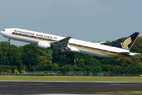 <b>シンガポール航空の「B777」</b>
