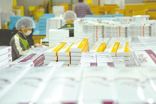 <b>商社としての物流拠点は羽田クロノゲート内にある。ヤマトグループが運営する国内最大級の物流施設だ</b>
