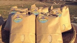 コメや野菜も栽培する農業法人のネーミングライツを買い「OKB農場」と命名した