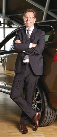<b>ホーカン・サムエルソンCEO。独フォルクスワーゲン傘下の商用車メーカーCEOなどを経て現職</b>