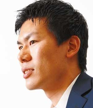 28歳の島原佑基・代表取締役が目指すのは「生命科学分野におけるPhotoshop(アドビシステムズの画像ソフト)」(写真=竹井 俊晴)