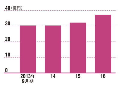 新事業で売上高が増加<br /> ●リネットジャパングループの売上高の推移