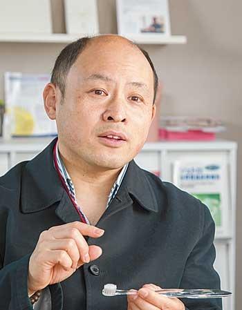 「欧州での商談では大きな手ごたえを感じた」と自信を見せる辻陽平社長(写真=菅野 勝男)