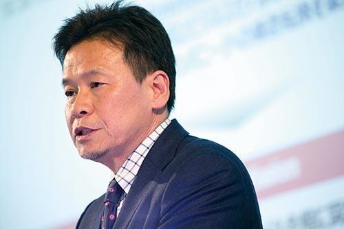 <b>岩田新社長は2月に経営計画を発表した</b>(写真=的野 弘路)