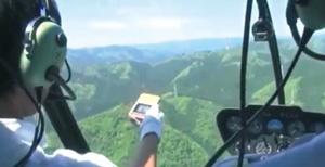 新サービスの「ココヘリ」はヒトココを持つ登山者が遭難した際にヘリで捜索してくれる