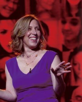 ユーチューブのスーザン・ウォジスキCEO。米国では仕事と家庭を両立させる働く女性として有名