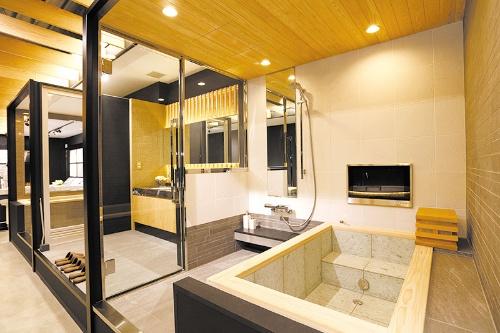 和風浴槽がホテルに人気