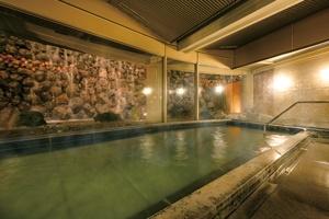 外資系ホテルでは珍しい温泉大浴場