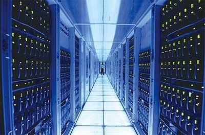HANAも活用されているSAPのデータセンターの様子