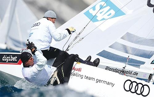 SAPが支援するドイツのセーリングチーム