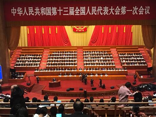 3月5日に開幕した中国の全人代。今年は政府活動報告に続き憲法改正案の説明もあった